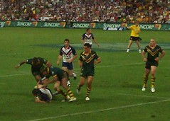 Kangaroos leap and pounce - Kangaroos v Britis...