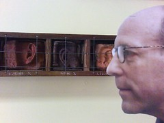 Jerry Saltz at Art Basel (Stuffy's)