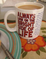 Always look on the bright side of life - Monty Python - mug of tea (Vanessa Pike-Russell) Tags: food macro lunch salad tea vibrant australia montypython mostinteresting diet popular sandwhich myfaves views100 foodstyling brightsideoflife mootrade vanessapikerussellcom