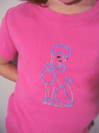 Poodle Stitch T