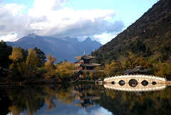 black dragon lake (Lijiang) (Robert Lio) Tags: china mountain water bravo yunnan coolest lijiang outstandingshots abigfave p1f1