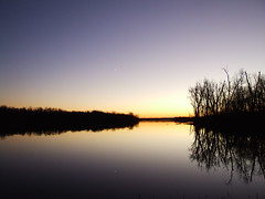 Evening Sky In November XVII (mightyquinninwky) Tags: trees moon reflection nature water landscape pond kentucky lexingtonkentucky award lexingtonky richmondroad eveningsky invite waterreflections fayettecounty cresentmoon naturesart watermirror fayettecountykentucky centralkentucky mywinner nomore1word aplusphoto platinumheartaward mywinners5star zensational bestofformyspacestation