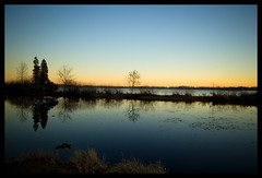 Cass Lake at dawn (Ledio (mostly away)) Tags: lake d50 landscape dawn pond michigan nikond50 casslake peisazh nikonstunninggallery piesazh