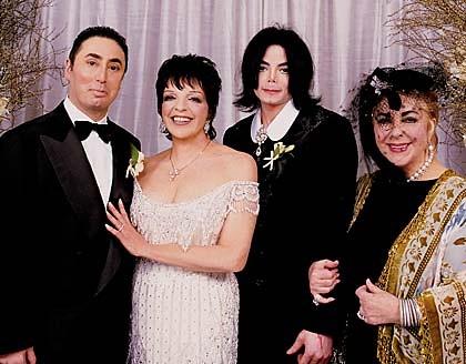 Michael Jackson Liza Minnelli