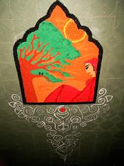 IMG_9389kolam (visithra) Tags: colours malaysia kualalumpur diwali kolam rangoli indianart ownart visithra