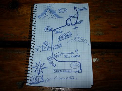 Barriendo para casa... todo es más claro. Foto cortesía de sego.