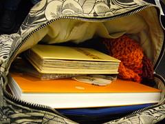 inside my bag (paperocks a.k.a evalinda) Tags: waitingforthetrain sundaynight timetogohome