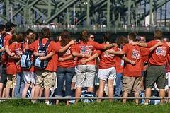 WYD 2005 (justfordream) Tags: world 2005 pope youth germany deutschland day cologne kln ratzinger papst pilgrims weltjugendtag wyd flickrchallengegroup