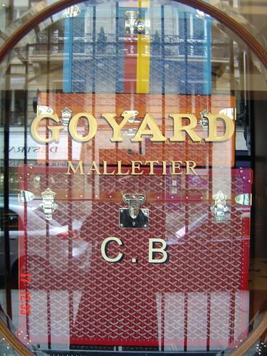 Goyard, Malletier, Rue St Honoré, Paris