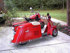 Cushman, 50-series, 1947 and Eagle