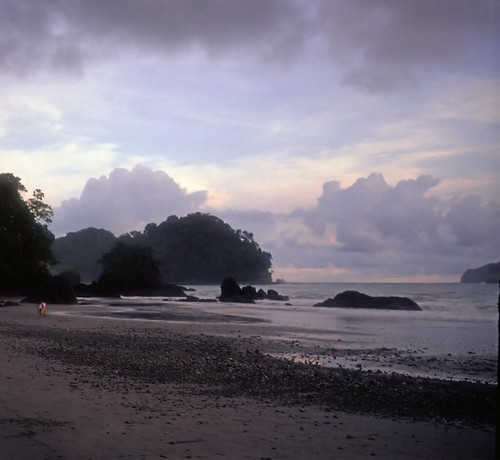 Sunset, Playa Espadilla, Costa Rica, 1989