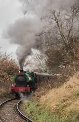 Whiston the Santa Special (ukmjk) Tags: foxfield santa special nikon nikkor d750 24120vr f4 train steam