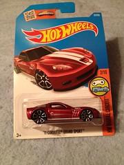 2011 Corvette Grand Sport (2016 Hot Wheels Treasure Hunt) (JeromeG111) Tags: 2016 hotwheels treasurehunt 2011 chevrolet chevy corvette corvettegrandsport iphone4s