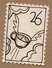 Artistamp: Flying Java (renmeleon) Tags: art moleskine journal reporter ria artistamps renmeleon renfolio