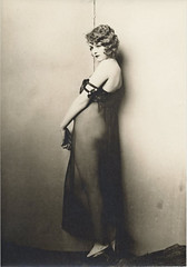 3-Quarter Moon in a Sheer Nightie (M. Veen) Tags: sepia vintage retro flappers prohibition nightgowns speakeasy diaphanous marcelwaves sheerziegfeldfollies