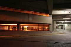 Untergrundbckerei (arnd Dewald) Tags: light shadow night concrete licht university nacht garage uni universitt bochum schatten ruhr beton parkhaus krabbelgruppe arndalarm img3109klein