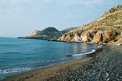 Playa de Las Negras (microlito) Tags: playa almera cabodegata mediterrneo lasnegras