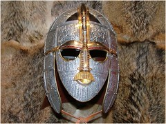 ingerlund, ingerlund, ingerlund: the Sutton Hoo mask (Simon_K) Tags: suttonhoo suffolk rendlesham ipswich woodbridge saxon shipburial redwald 1000 anglish anglisc englisc england english beowulf gippeswick gyppeswick gyppeswic wuffing wuffinga angleland suttonhoomask established449 angles wearetheenglish ænglisc anglefolk ænglefolk angel nonanglesedangel eastanglia