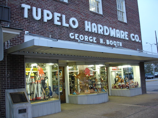 Tupelo Hardware Company, Tupelo MS