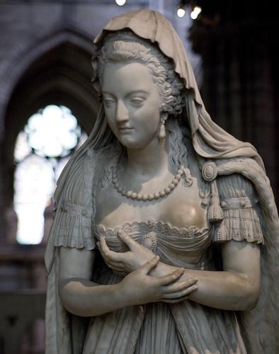 The oft rubbed bosom of Marie Antoinette