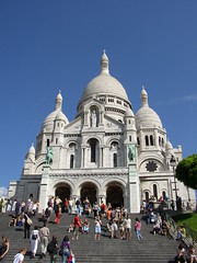 Basilique du Sacre-Coeur, Paris, France (Snuffy) Tags: paris france church europe greatshot placesofworship breathtaking oldcity straightfromcamera neverbeenthere wowiekazowie excapture worldtrekker ilovemypics qualitypixels artofimages