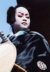 Kabuki actor 12 (転倒虫) Tags: people japan nagahama kabuki boy actor