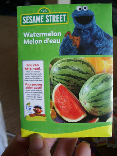 Cookie Monster Watermelons!