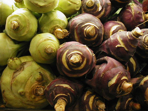 Green & Purple Kohlrabi