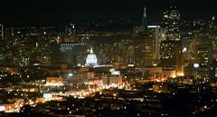 Late September Night (Thomas Hawk) Tags: sanfrancisco california city usa skyline night unitedstates cityhall unitedstatesofamerica civiccenter sanfranciscocityhall