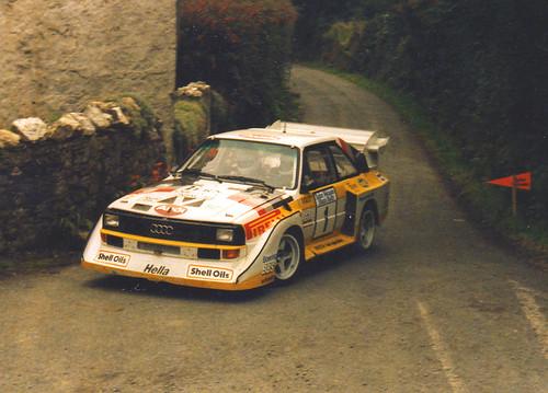 Lady Driver, Michele Mouton,Quattro Sport
