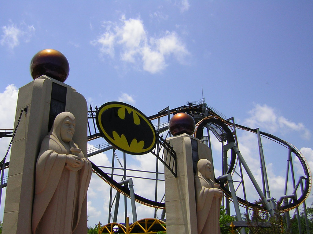 Batman: The Ride by hagerman, on Flickr