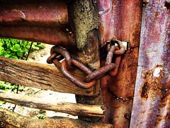 chained (Stitch) Tags: door topv111 closed philippines chain weekly fav510 locked weeklysurvivor weeklyblog3