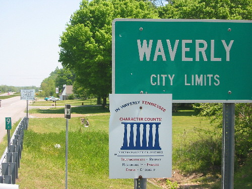 waverly city limits