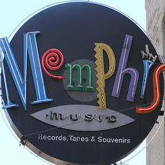 sign saying Memphis