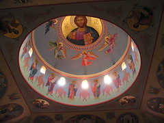Vesperal Light (phool 4  XC) Tags: ontario canada church icons icon christian stgeorge orthodox orthodoxchristian richmondhill antiochian  phool4xc