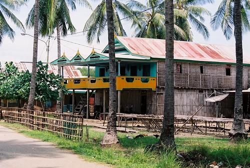 Muslim Bugis stilt houses