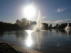 Sun and Fountain
