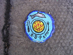 Dscn3725 - Ben's chewing gum art. (rahid1) Tags: macro london topv111 gum geotagged graffiti chewinggum 325 haringey muswell muswellhill chewinggumman benschewinggumart benwilson geolat5159017 geolon014412