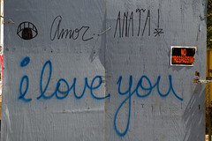 i love you (street stars) Tags: streetart graffiti nyc urban city ny decay les