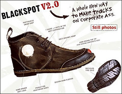 blackspot (faster panda kill kill) Tags: shoes vegan nonsweatshop sweet organic hemp stompers recycled anticorporate blackspot