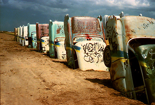 Cadillac Ranch 1984