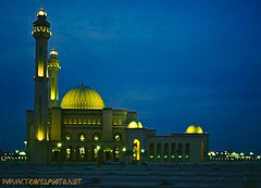 Mosque in the blue hour