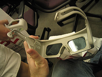 NuVision 60GX Wireless Stereoscopic Glasses