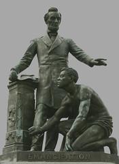 Emancipation statue at Lincoln Park