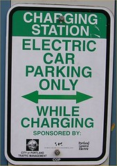 'lectric car park