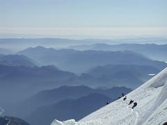 Climbing Mt Rainier (rochejaune) Tags: mountain nationalpark rainier mountaineering nationalparks jobsingreatplaces bizc