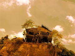 The House on the Haunted Hill (Stitch) Tags: house topv111 sepia movie philippines hill haunted forgotten