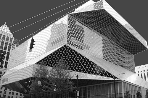 Seattle Public Library - Central Library, Rem Koolhaas, architect