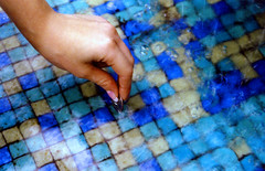megan money (world_of_noise) Tags: fountain water color pdx portland pentaxmesuper megan money hand