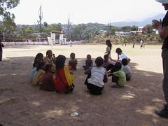 Mcleod Ganj (rachbee) Tags: mcleod ganj children picnic
